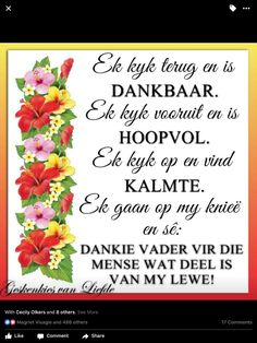 Scripture Verses, Bible, Goeie More, Afrikaans Quotes, Good Morning Wishes, Inspirational Thoughts, Christianity, Special Occasion, Prayers