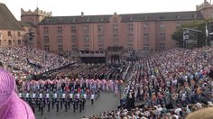 Basel Tattoo 2014 - Finale - Schweizerpsalm, Cantique suisse, National A...