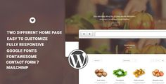 Vital - Responsive WooCommerce WordPress . VITAL is a perfect theme for woocommerce shops such as organic, spa, beauty and health, Agricultural sales, Food crop sales. While being very straightforward, it still gives freedom and gets highly