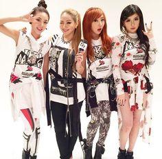 2NE1 for Nylon Japan