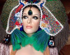 READY TO SHIP Gypsy bohemian peacock by PoshFairytaleCouture