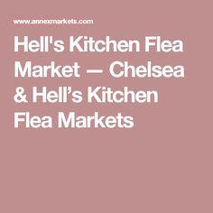 Hell's Kitchen Flea Market — Chelsea & Hell's Kitchen Flea Markets