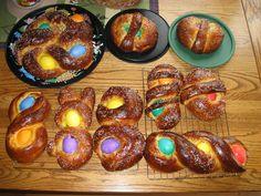 Italian Easter Bread . . . FUN!!  :)
