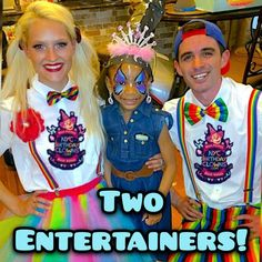 NYC Birthday Clowns: New Yorks favorite kids party entertainment! We come to you with two entertainers face painting balloon twisting cotton candy music magic & more. NYCBirthdayClowns.com Birthday Clown, Clown Party, Balloon Painting, Love My Kids, Balloon Animals, Party Entertainment, Cotton Candy, Balloons, Nyc