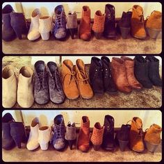 So many #Boots and only two feet to wear them.. #21DayOfLayers.