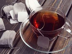 Do you love Tea? Check The Best Tea For a Peaceful Nights Sleep. Is your tea bag toxic? A recent study showed that one plastic tea bag can shed one billion microplastic particles into. Dry Itchy Eyes, Home Remedies For Burns, Allergy Eyes, Used Tea Bags, Drinking Tea, Bronzer, Cleaning Hacks, Graham, Diet
