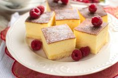 Puszysty sernik śmietankowy Cheesecake, Cooking Recipes, Pudding, Baking, Desserts, Food, Naturally Curly, Curly Bob, Makeup
