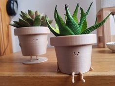 Your place to buy and sell all things handmade – neon nail art Diy Clay, Clay Crafts, Indoor Planters, Planter Pots, Indoor Cactus, Cactus Cactus, Small Plants, Potted Plants, Mini Vasos