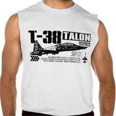 T-38 Talon Sleeveless Shirts Tank Tops