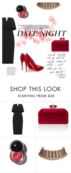 """""""Hot Date Night Style"""" by samanthasade ❤ liked on Polyvore featuring WearAll, Judith Leiber, Christian Louboutin, DateNight, date, women and fashionset"""