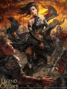 Legend of the Cryptids - Zesperia by anotherwanderer.deviantart.com on @DeviantArt
