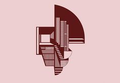 Copenhagen-based designer Kristina Dam's imaginative illustrations take on the look of buildings, but morph into mesmerizing compositions of patterns and shapes.