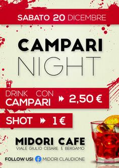 Flyer Midori 20 dicembre- CAMPARI NIGHT