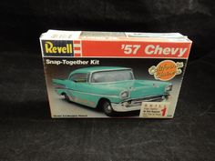 Revell '57 Chevy California Cruisers 1/32 Snap Together Model Car Kit RARE #Revell