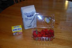 Country Girl at Home: Strawberry Freezer Jelly