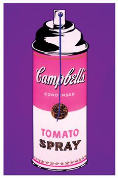 TOMATO SPRAY | Screen print on archival art paper |  Size: 22in. x 30in |  Edition: 15