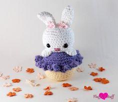 Kawaii Amigurumi Cupcake Bunny: