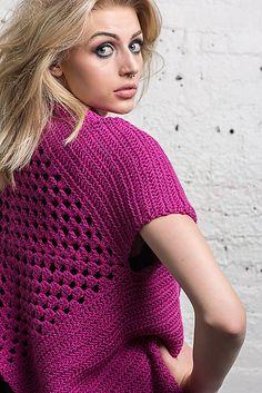 Crochetemoda: Casaqueto Pink, de Crochet