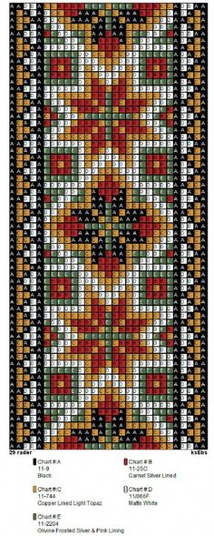 off loom beading techniques Beading Patterns Free, Bead Loom Patterns, Beaded Jewelry Patterns, Beading Ideas, Beading Supplies, Beaded Embroidery, Cross Stitch Embroidery, Cross Stitch Designs, Cross Stitch Patterns