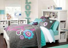 tween girl bedrooms with chalkboard paint   , Interior Design Ideas Bedroom Teenage Girls : Bedroom Teenage Girls ...