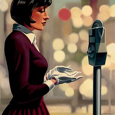 made by: Kenton Nelson - painting