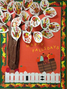 25 Fall Bulletin Boards and Door Decorations for Your Classroom : We_Are_Teachers_Fall_Bulletin_Board_thankful Looking for inspiration for fall bulletin boards or classroom doors? Try one of these fall themes or Halloween bulletin board ideas. November Bulletin Boards, Halloween Bulletin Boards, Fall Bulletin Boards, Preschool Bulletin Boards, Fall Boards, Apple Bulletin Board Ideas, Infant Bulletin Board, Bulletin Board Tree, Thanksgiving Bulletin Boards