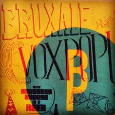 Belgium typography