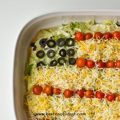 Bring this Patriotic Layered Taco Dip to your next summer picnic! It's a quick and easy side dish that you don't have to bake. Serve with tortilla chips I'm a new Pinterest user. I know…I'm way behind the times. Before I had this food blog, I loved searching Pinterest for ideas, but didn't have an account.  Now that I have an account, I'm trying to actually make some of the ideas that I've pinned! This Patriotic Layered Taco Dip is [Continue Reading]