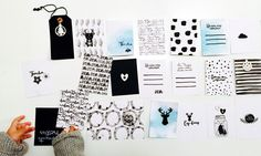 HAND PAINTED PROJECT LIFE CARDS - Eskerikia_Gigietmoi
