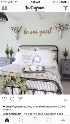 farmhouse style guest room filled with a mix of new and old and whimsy bedroom pinterest farmhouse style room and bedrooms