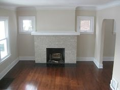Fireplace Decorating: Where there's fire there's smoke - Cleaning a Brick Fireplace