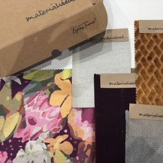 Box full of goodies, starring Lynn Tanner's Native in pink! Followed by our favourite key pieces to really make a room sing,  Hightower - Pebble, Faux Mo - Merlot, Salon - cooper, and Zoe - Silver.   Get in-touch to get hold of your own sample and be inspired for your next project.