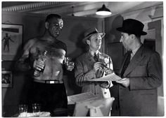 "The 1950 film noir classic ""Night and the City"" gave Mazurki his chance to play a professional wrestler on screen. In the film, Richard Widmark stars as a small time schemer hoping to break into the London pro wrestling scene."
