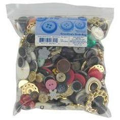 Dress it Up Embellishment Buttons - Grandma's Grab Bag