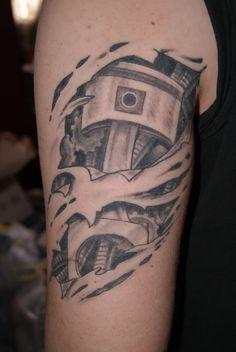 piston tattoo | Piston tattoo