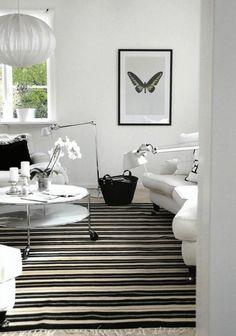 Elegante Wohnzimmer Deko