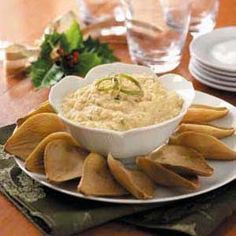 Creamy Crab with Artichoke Dippers Recipe from Taste of Home -- shared by Shirley Hewitt of Milwaukie, Oregon