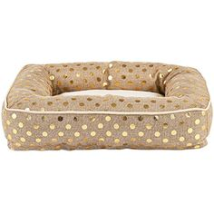 Harmony Gold Memory Foam Bolster Dog Bed 26 L x 20 W Small >>> See this great product.