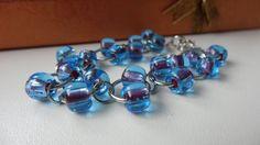 Modrý náramek Preciosa.