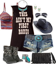 """""""Calgary Stampede"""" by trinavokes on Polyvore"""