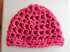 Chunky Crochet Hat | AllFreeCrochet.com