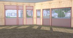 ✿Roli Cannoli CC Findz Corner✿ — sims-kkb: [KKB]Café Window&Door Set ... Cafe Window, Open Window, Sims Building, Restaurant Lounge, Door Sets, Bistro Set, Cannoli, Cottage Living, Windows And Doors