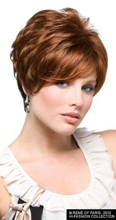 Rene of Paris Gia Synthetic wigs are just one of our wigs from our wide selection take advantage of our instant discounts on wigs by Rene of Paris. Red Hair Day, Rene Of Paris Wigs, Natural Hair Styles, Short Hair Styles, Blonder Bob, Hi Fashion, Short Hair Cuts For Women, Synthetic Wigs, Hair Beauty