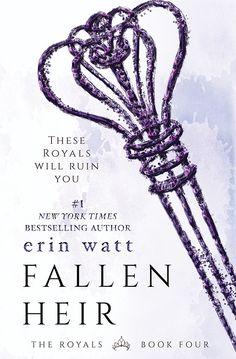 Portada revelada! Fallen Heir (The Royals #4) Erin Watt