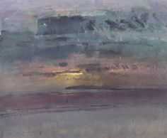 Sunset, Camber Sands, 1998 - Fred Cuming, R.A.