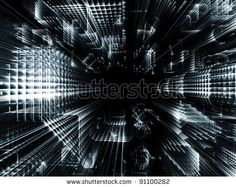 Stock Photo:  Abstract pattern of structural lines in deep perspective suitable as architectural, technological or business background  Image ID: 91100282    Release information: N/A    Copyright: agsandrew