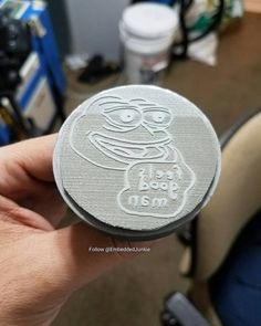 Laser engraved rubber stamp glued to base of 3d printed stamper. Two great technologies together at last.  #pepethefrog #pepe  #meme #memes #feelsgoodman #laser #engraving #lazer #LaserCutter #LaserEngraver #Engraver #LaserCutting #fabrication #fablab #engraved #etching #lasercut #FrickinLaserBeams #3dprinter #3dprinting #3dprint #3dprinted #3dprints #impresora3d #3dmodel #modeling #3дпринтер #3дпечать