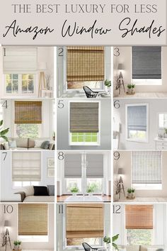 A round up of the best Amazon curtains, rods and window shades with tips for how to hang curtains and choose the right length for a room.