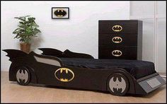 Bombastic Batman Bed Design for Childrens Kids Bedroom Designs, Boys Bedroom Decor, Bedroom Furniture, Ikea Furniture, Furniture Logo, Baby Furniture, Bedroom Sets, Furniture Stores, Cama Batman