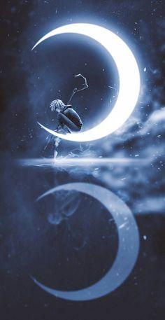 Jack Frost in the Winter Moon Anime Scenery Wallpaper, Cute Disney Wallpaper, Dark Wallpaper, Galaxy Wallpaper, Cartoon Wallpaper, Wallpaper Backgrounds, Disney Kunst, Arte Disney, Disney Art